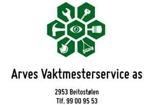 Arves Vaktmesterservice AS, logo