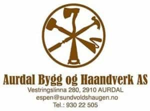 Aurdal Bygg og Haandverk AS, logo