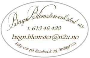 Bagn Blomsterverksted AS, logo