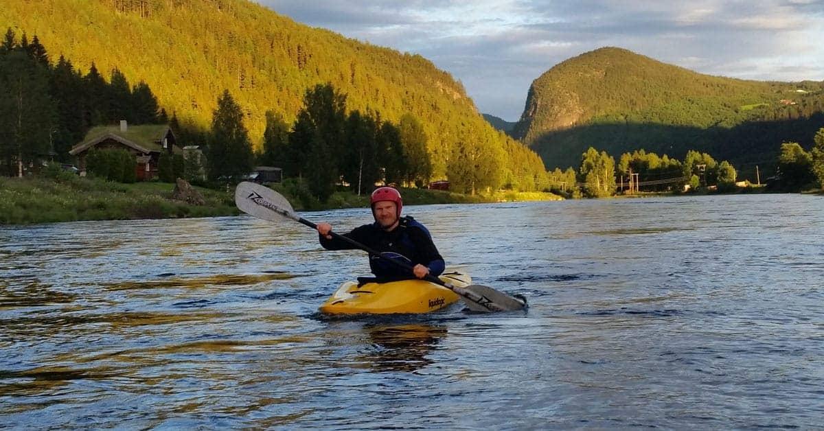 Elvekajakk i Valdres
