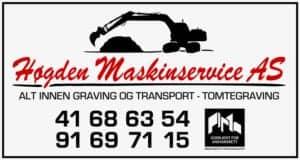 Høgden Maskinservice AS, logo