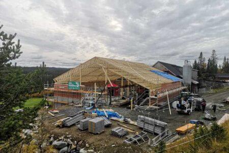 Landbruk /fjøs - Valdres Hytte og Byggservice AS
