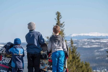 Bilde fra Ølnesseter Hyttegrend