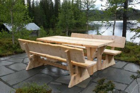 Utemøbler fra Ødegård Sag