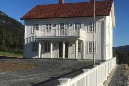 Restaurering av enebolig i Valdres, Aurdal Bygg og Haandverk AS