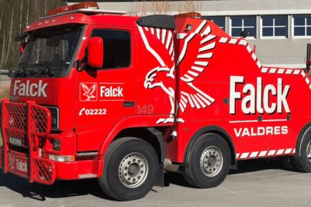 Bilberging Valdres AS, Falck