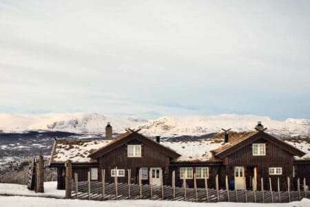 Høyset Panorama, hytte