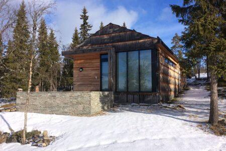 Hytte fra Slidre Bygg og Prosjektering AS