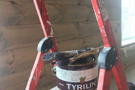 Malerarbeid fra Vaktmestertjenester Valdres AS