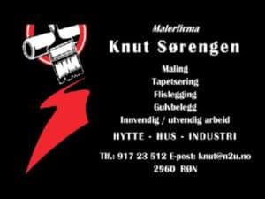 Malerfirma Knut Sørengen, logo