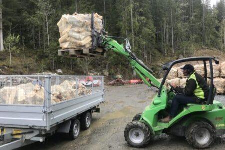 Strandmo Ved, tørr bjørkeved i Valdres