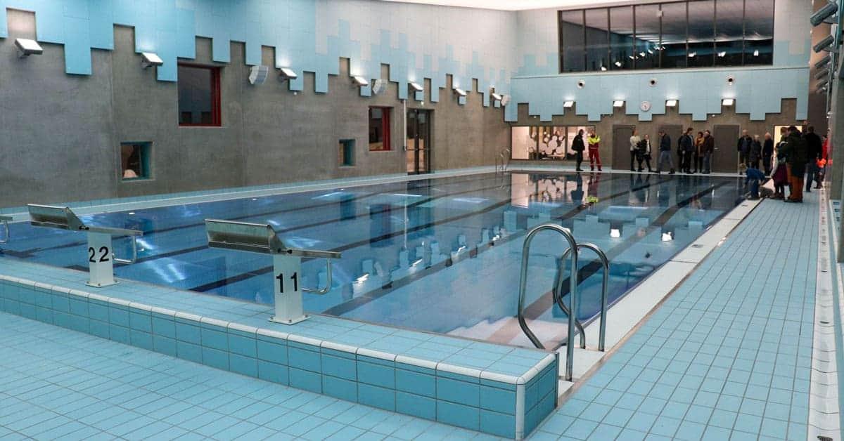 Svømmehall i Sør-Aurdalshallen, foto: Anne Dyve