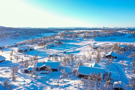 Ølsjølitoppen Hyttefelt, bilde fra området