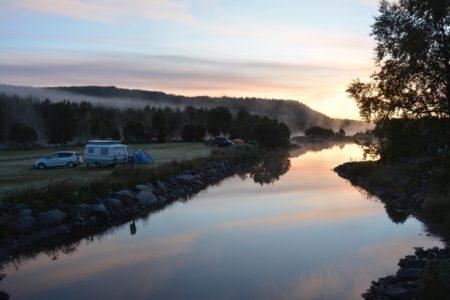 Vasetdansen camping, på høsten